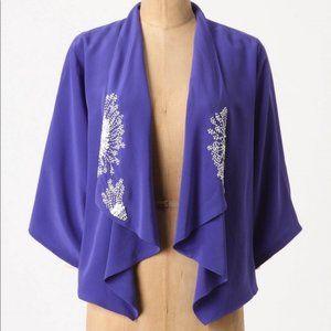 lk nw Anthro Leifsdottir 'Novalis' 100%silk kimono
